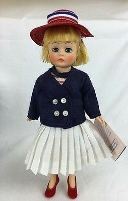"NRFB Vintage Madame Alexander ""Sailorette""10"" doll with original box, Tags #1119"