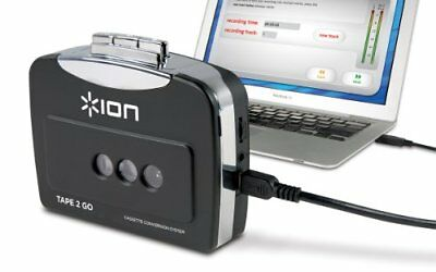 ❤ Ion Audio Tape 2 Go Portable Analog To Mp3 Digital Cassette Converter/Player M