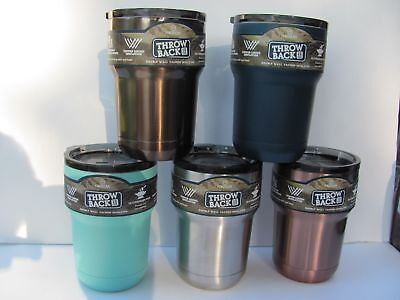 Magellan Throw Back 12Oz Double Wall Stainless Steel Tumbler