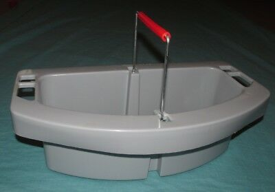 New = Rubbermaid Commercial Maid Caddy Cleaning = 2649 = Fg264900Gray
