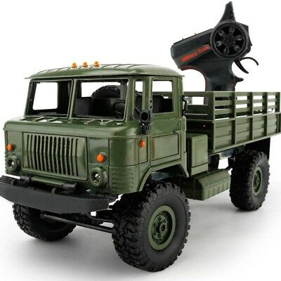 WPL-B1 B-24 1:16 4WD RC Crawler Military Truck DIY OFF-Road Vehicle Assemble Set