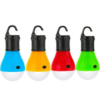 Camping LED Bulb Tent Lantern Fishing Hanging Color Lamp for Outdoor Emergency