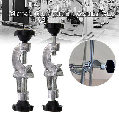 Lab Stand Clamp BOSS HEAD Laboratory Metal Grip Support Right Angle Clip Holder