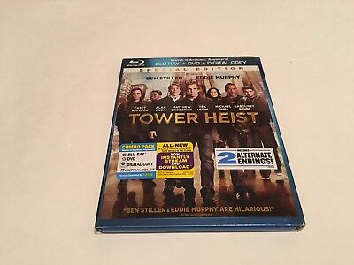 Tower Heist (Blu-ray/DVD, 2012, 2-Disc Set, Special Edition) Missing Digital