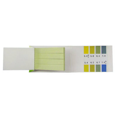 New PH 5.4-7.0 Test Paper Strips Indicator Paper Lab Supplies 80 Pieces