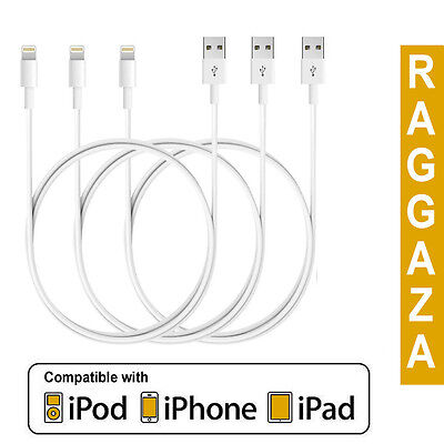 1M 2M 3M USB Data Sync Charger Cable For Apple iPhone 5 5C 6S 7 8 Plus