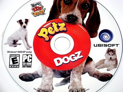 Petz Dogz Cd Rom Pc Game Rated E Ubisoft Wendy's Kids Meal Windows 2000/xp Only