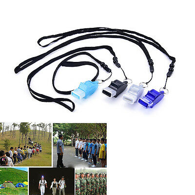 Dolphin shape Football Soccer Sports Referee Whistle Emergency Survival Kit JX