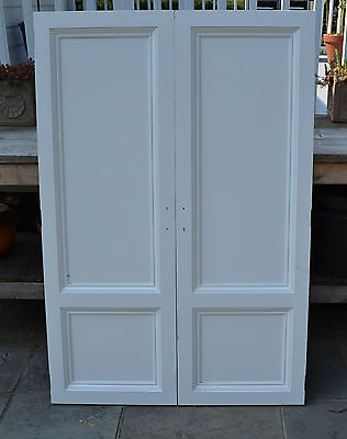 Salvage Antique Rustic Wood Pantry Door Panels Cabinet Closet doors Hand made