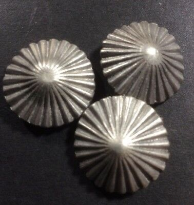 Three Matching Vintage Navajo Buttons