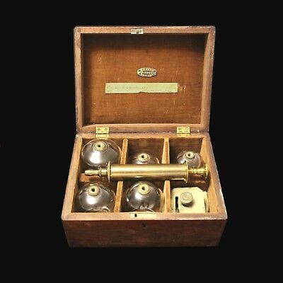 Vintage Blood-Letting and Cupping Set - Dates to 1881 -Has a Scarificator - Kern