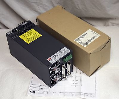 NEW Mean Well SCN-1K2-48 Power Supply, 48V DC, 25A, 1200W, from 200-240VAC