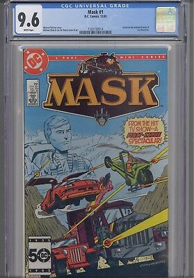 Mask #1 CGC 9.6 TV series Comic in 1985: NEW CGC Frame