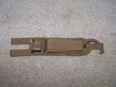 Spec Ops Brand Combat Master Knife Sheath - Short - Coyote Brown - New
