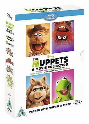 The Muppets 6-Movie Collection [Blu-ray Box Set, Disney, Jim Henson Region Free]