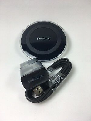 Samsung Galaxy Qi Wireless Charging Qi Pad Desktop + 2A Wall MicroUSB Charger