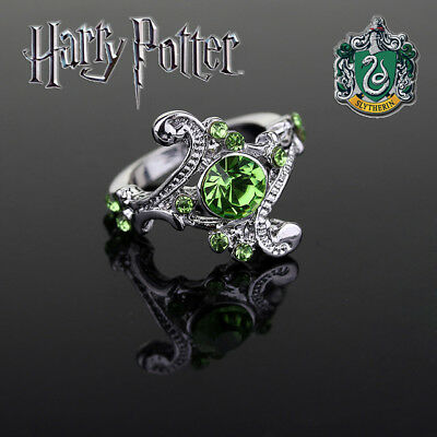 Harry Potter Slytherin House Ring, Wizarding World, Noble, Hogwarts, Jewelry, HP