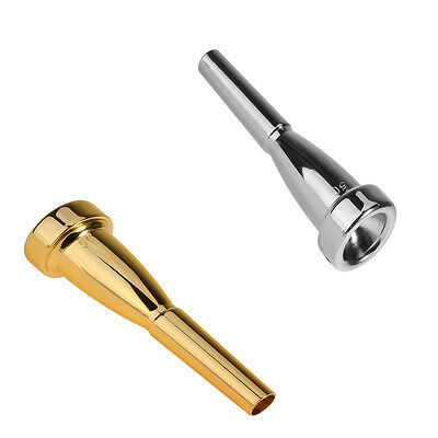 New TRUMPET MOUTHPIECE Sizes #  5C - SILVER or GOLD Plated - for Bach