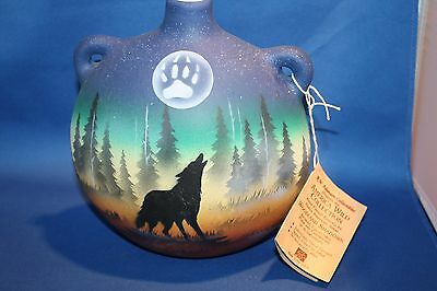 Native American Cherokee Pottery From the American Wildlife Collection