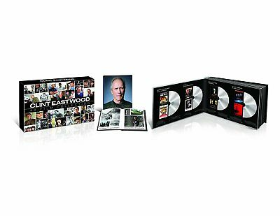 Clint Eastwood 40-Film Special Collection 24-Disc Gift Box Set DVD w Book | NEW