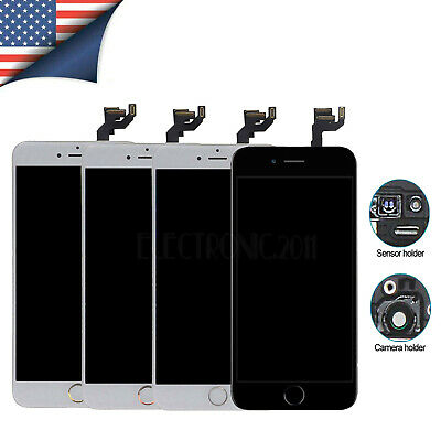 For iPhone 7 5s 6s 8 Plus Replacement Screen Digitizer Touch LCD w/ Home Button