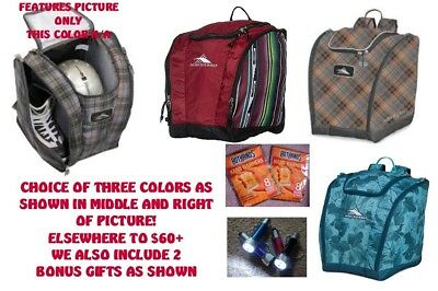 731f4a93f1917 NEW High Sierra Trapezoid Snowboard Boot Bag/Backpack-HOT COLORS SPECIAL+2  BONUS
