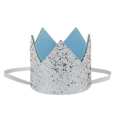 Mini Filz Glitter Crown Hut Kind Dusche Dekor Prinz Prinzessin Geburtstag Party
