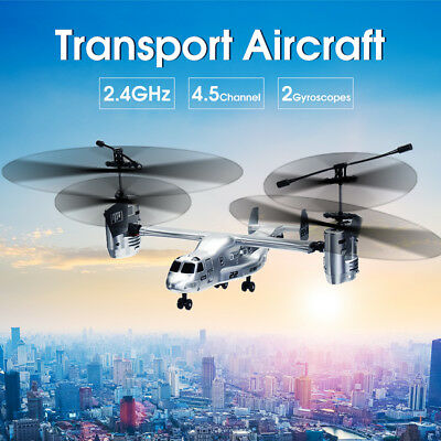 2.4Ghz 4.5CH Remote Control Plane Airplane RC Drone Aircraft Helicopter Toy