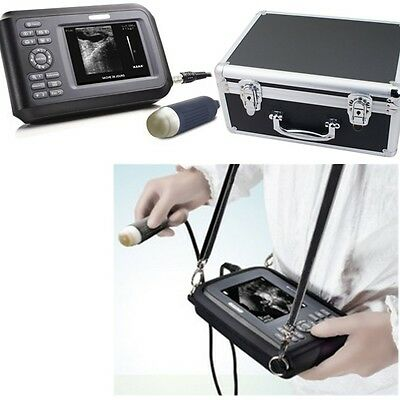 USA Portable Laptop Ultrasound Scanner Machine Handscan Animal Veterinary +case