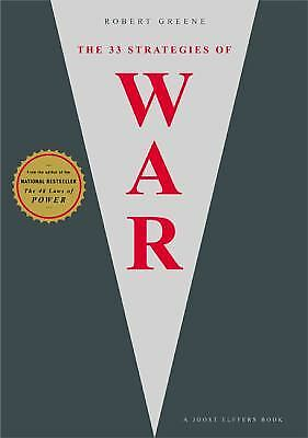 The 33 Strategies of War  (NoDust) by Joost Elffers; Robert Greene