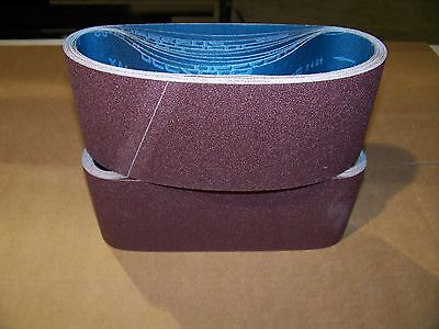 "Premium  A/o,  X-Weight  Sanding  Belts  4"" X 24"",  10 - Pack,  24-Grit"