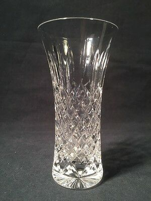 Beautiful Stuart Crystal Vase 'Shaftsbury' Pattern (ref W427)