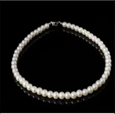 White Pearls Wedding Necklace Bridal Accessories Jewelry Necklaces Cheap New