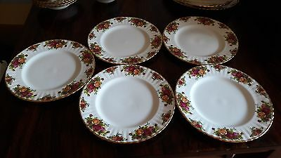 Old Country Roses Royal Albert bone China England Flache Teller Essteller