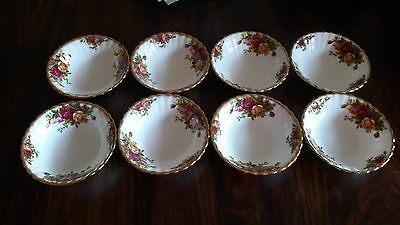 Royal Albert-Bone China-England-Old Country Roses Dessert Salat Schälchen