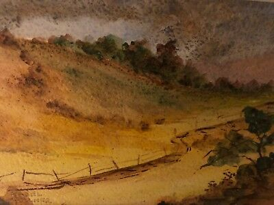Painting Original By Mabel Palmer Early California Artist Country Side Trees
