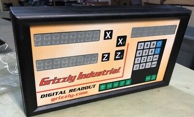 Grizzly Industrial 2-Axis Digital Readout for Mills CLEAN READY TO RUN!