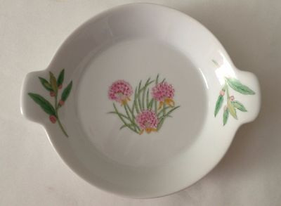 Shafford Porcelain Dish with Handles - Herbs & Spices