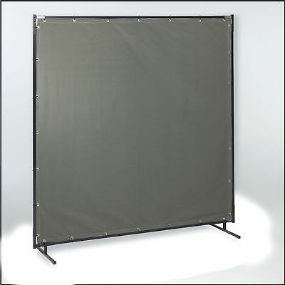 Steiner Flame Retardant Cotton Duck Welding Curtain, Height: 6 ft., Width: 8