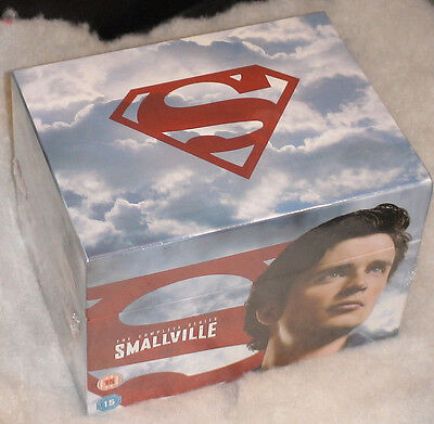Smallville (Superman) - Complete Collection Seasons 1-10 - DVD Box Set - SEALED