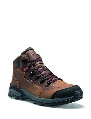 CMP Trekking Shoes Hiking Boots Ankle Shoes Brown Mirzam Leather