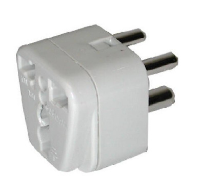 Franzus Model NWG14C GRND Adapt Plug For India Travel Smart By Conair