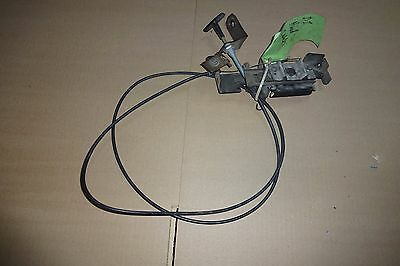 Pair of OEM Land Rover Discovery 1 Hood Latches W. Cables & Handle Left Right