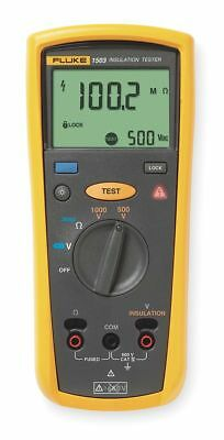 Fluke Multiline LCD Battery Operated Megohmmeter; Insulation Resistance Range: