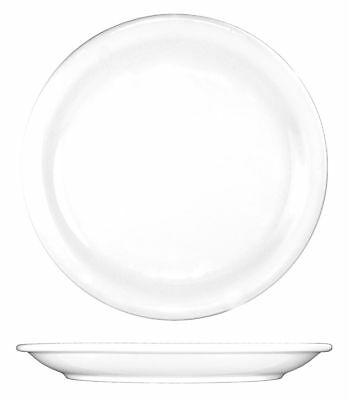 ITI Plate, 7-1/2 In. Dia, European White, PK36 - BR-7