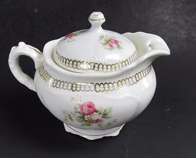 Vintage O & E.G. Royal Austrian China Roses One Cup Tea Pot