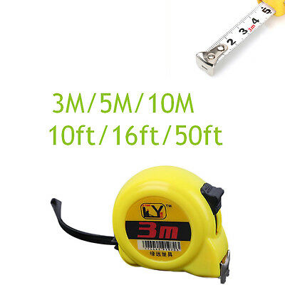 Tape Measure With Key Chain High Precision White Paint Portable 3m 5m 10m