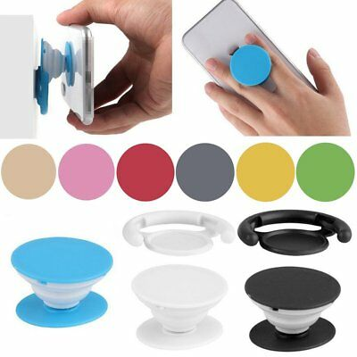 1pc Finger Phone Holder Grip Back Pop Up Expanding Stand Hands Free Universal