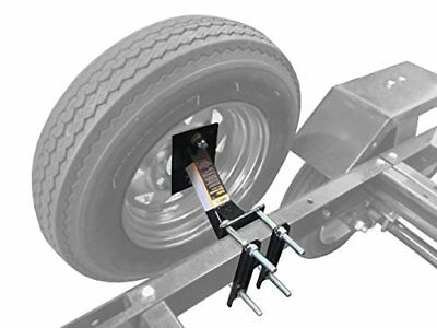 Wheel Mount Spare Tire Boat & Utility Enclosed Trailer Bracket Carrier New