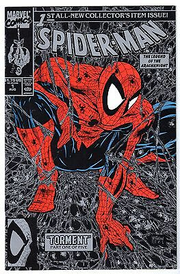 Spider-Man #1 Silver Edition, Near Mint Minus Condition*